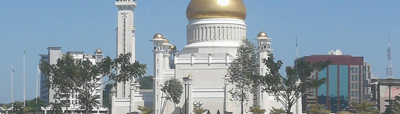 Ali Saifuddin mosque - Bandar Seri Begawan - Brunei