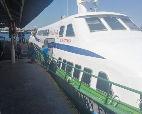 Labuan Island Ferry - Travellers of Malaysia